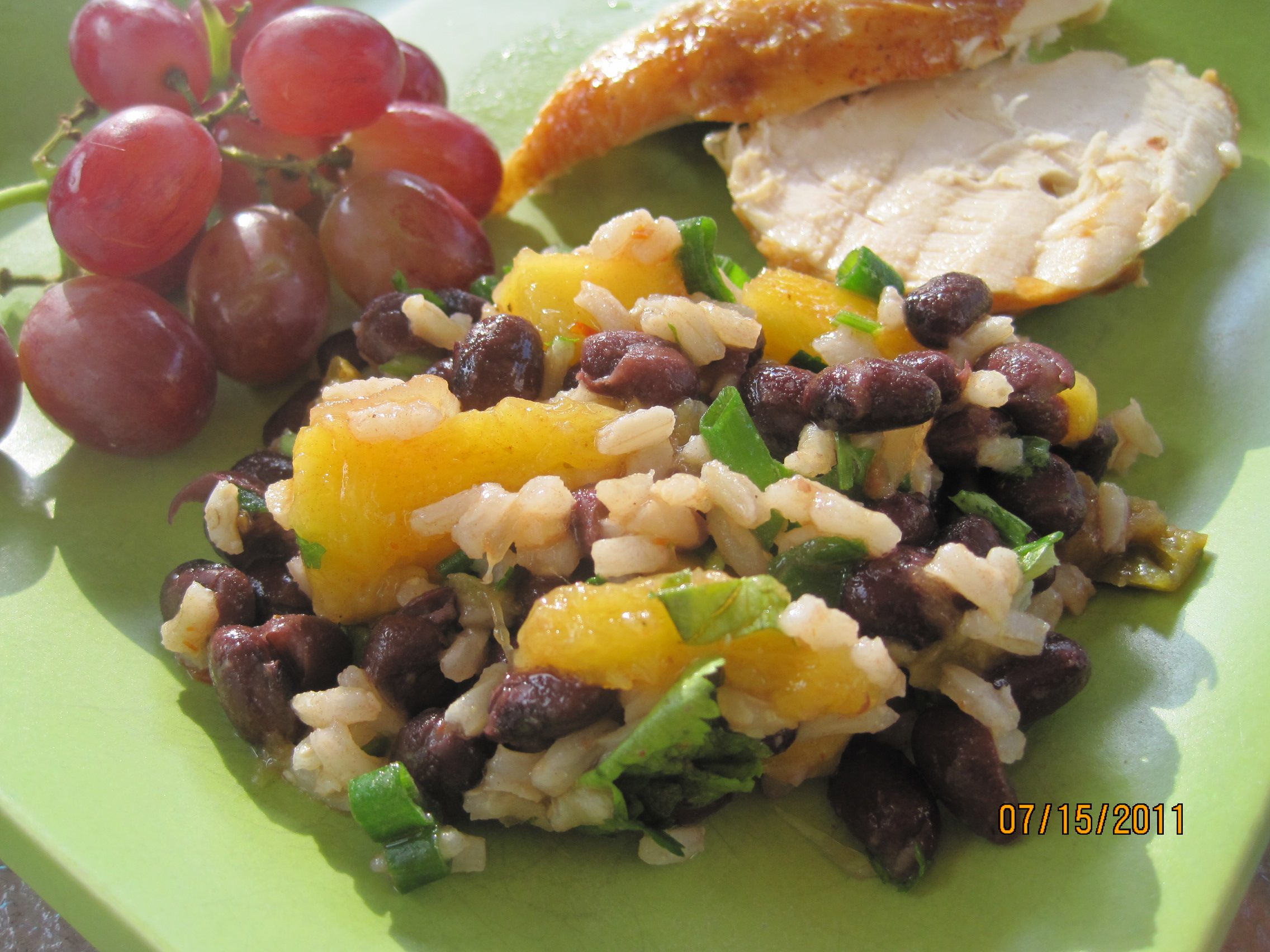 Mango & Black Bean Salad - Juggling with Julia — Juggling with Julia