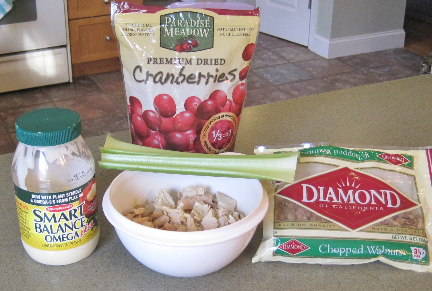 cranberry walnut chicken salad makes 5 cups of chicken salad