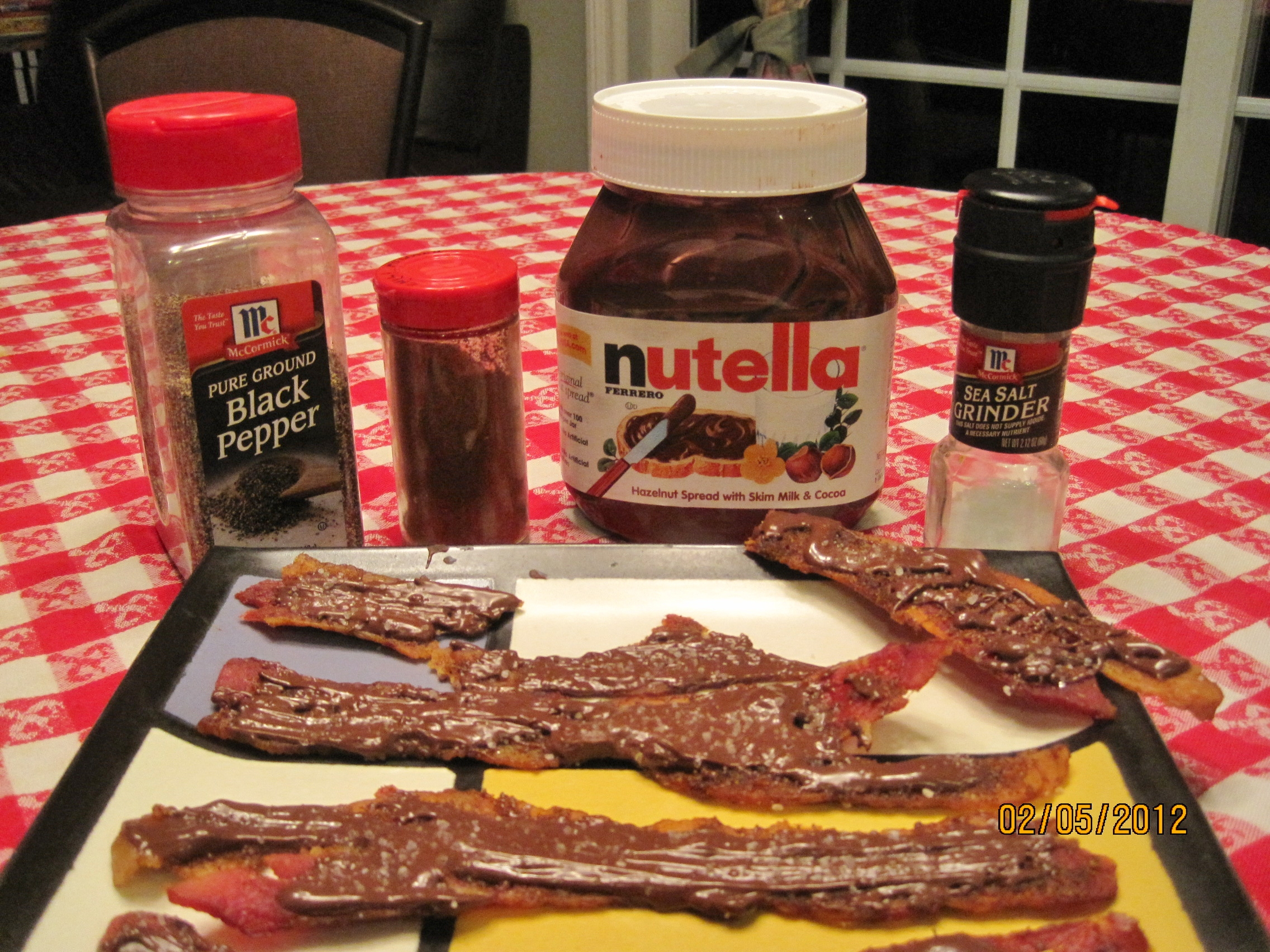 Nutella Bacon -- Juggling with Julia