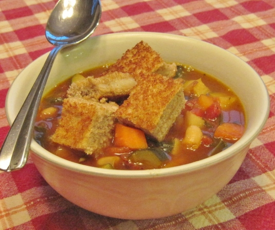 Hearty Minestrone -- Juggling With Julia