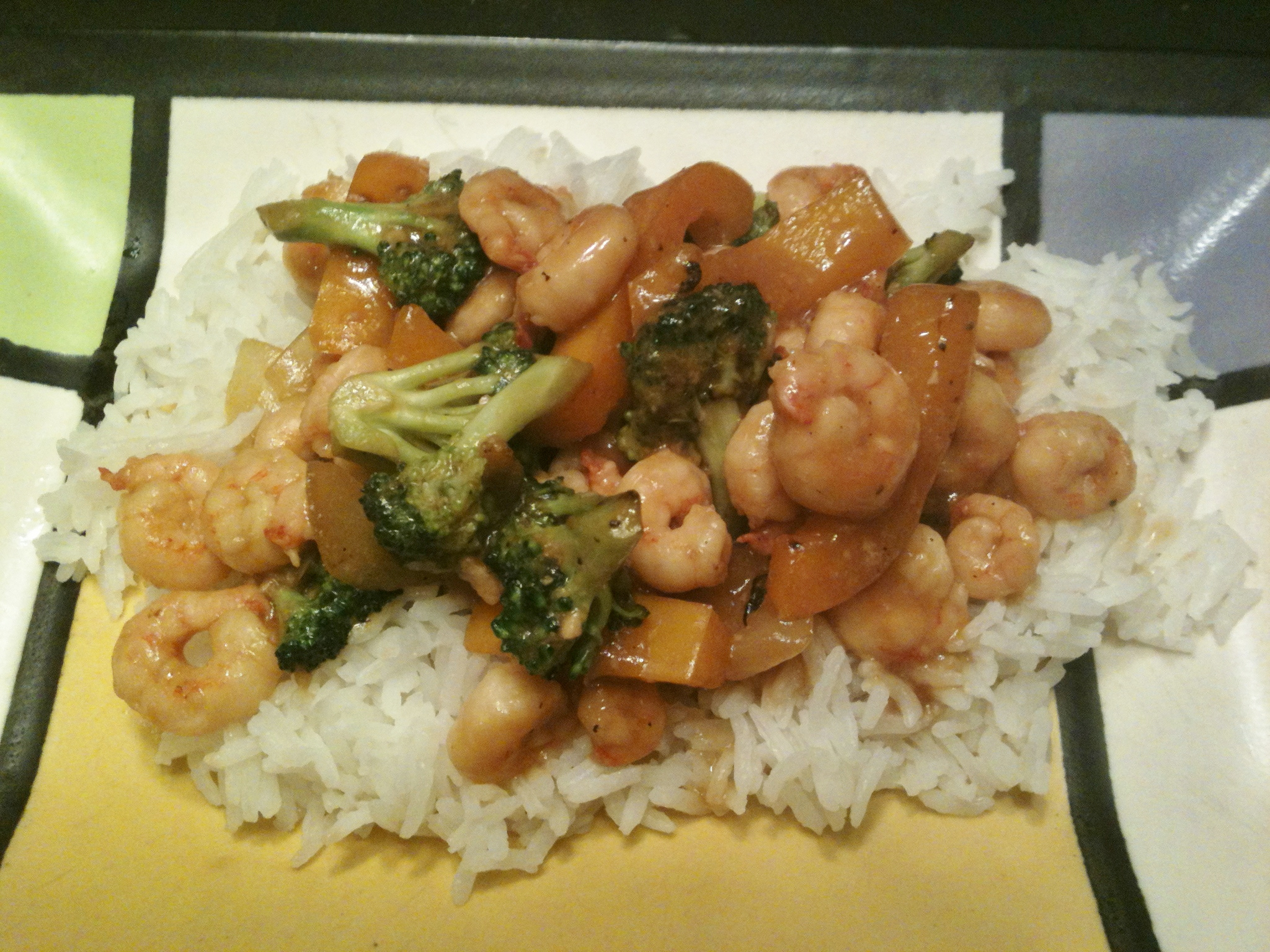 Shrimp and Broccoli Stir Fry -- Juggling With Julia