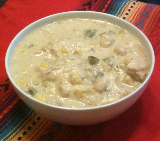 White Chicken Chili with Greek Yogurt -- Juggling With Julia