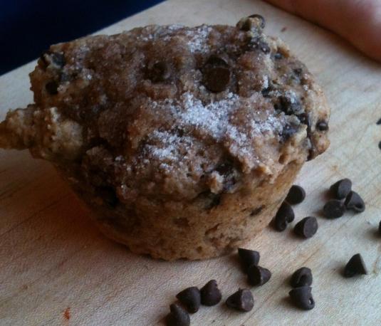 Lowfat Cinnamon Chip Streusel Muffins