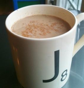 Lowfat Chai Tea -- Juggling With Julia