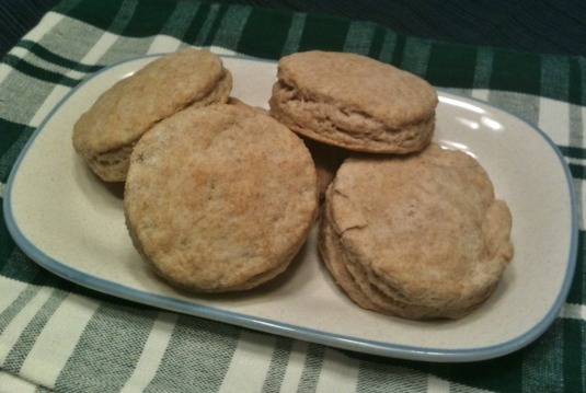 Whole Wheat Buttermilk Biscuits -- Juggling With Julia